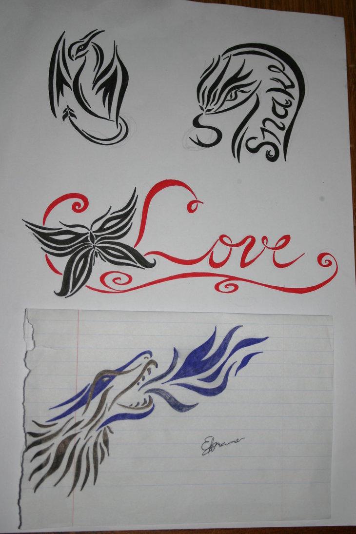 Tattoo Drawings On Paper Small: Small-tattoo-designs-on-paper.jpg