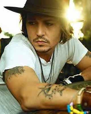 Johnny Depp Tattoo Johnny With Hat Tattoomagz