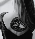 pagan tattoo tree of life