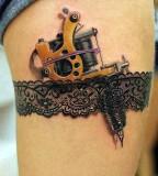 realistic tattoo tattoo instruments