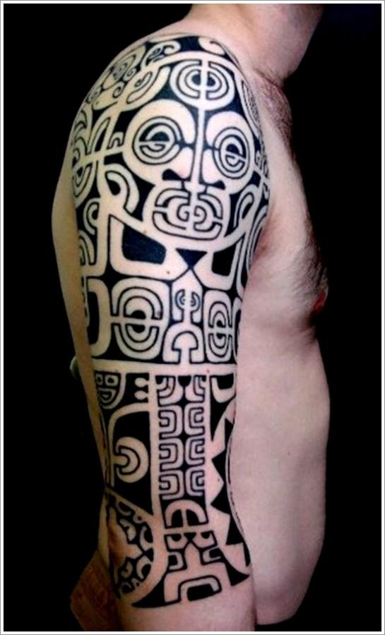 Maori tattoo sleeve tattoomagz for Maori tattoo meanings