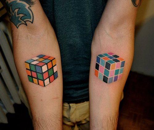 Puzzle Man Tattoo Puzzle tattoo electric