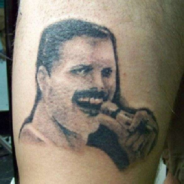Famous people tattoo