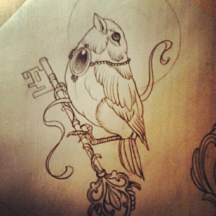 Beautiful birds tattoo - TattooMagz