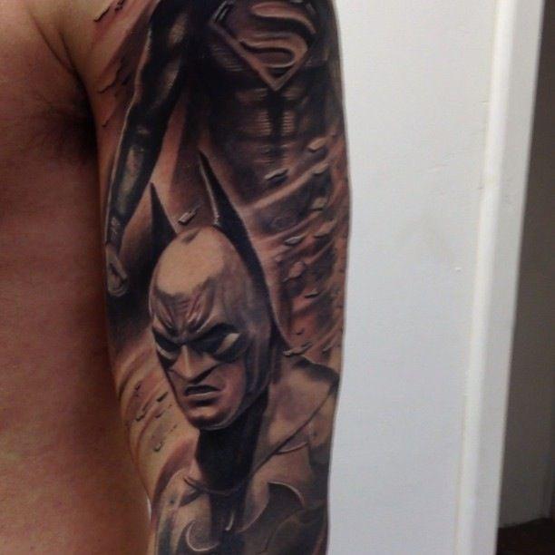 batman tattoo tattoomagz. Black Bedroom Furniture Sets. Home Design Ideas