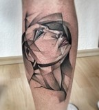 marie kraus tattoo woman's face