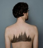 nature tattoo grove on back