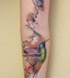 ondrash tattoo bird sleeve