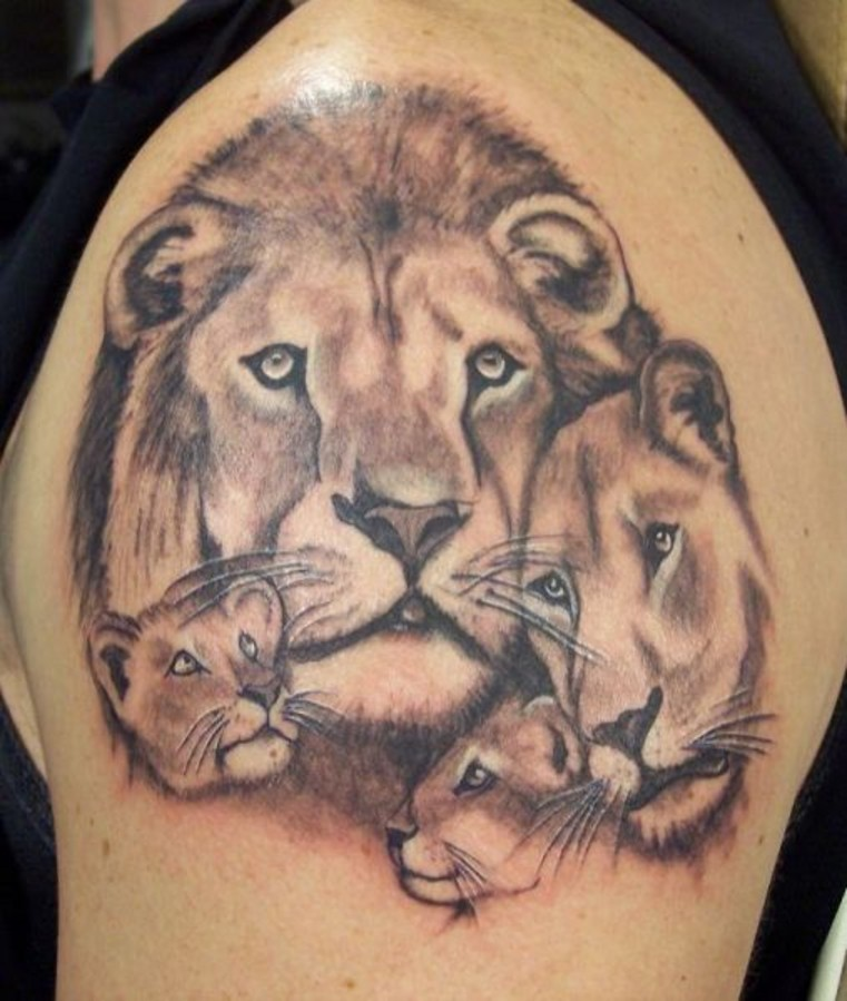 Tiger Family Tattoo Tiger Family Tattoo