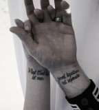 Amaizing couples tattoo