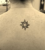 Amaizing sun tattoo