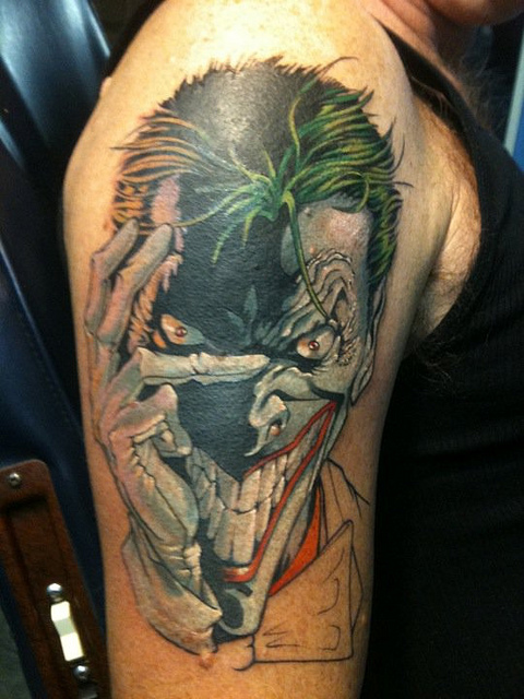 Joker Karte Tattoo