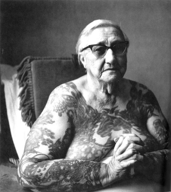 Old Women Tattoos