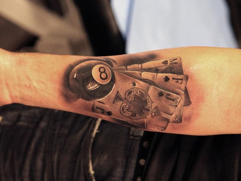 Playing-Cards-Tattoo-Meaning - TattooMagz