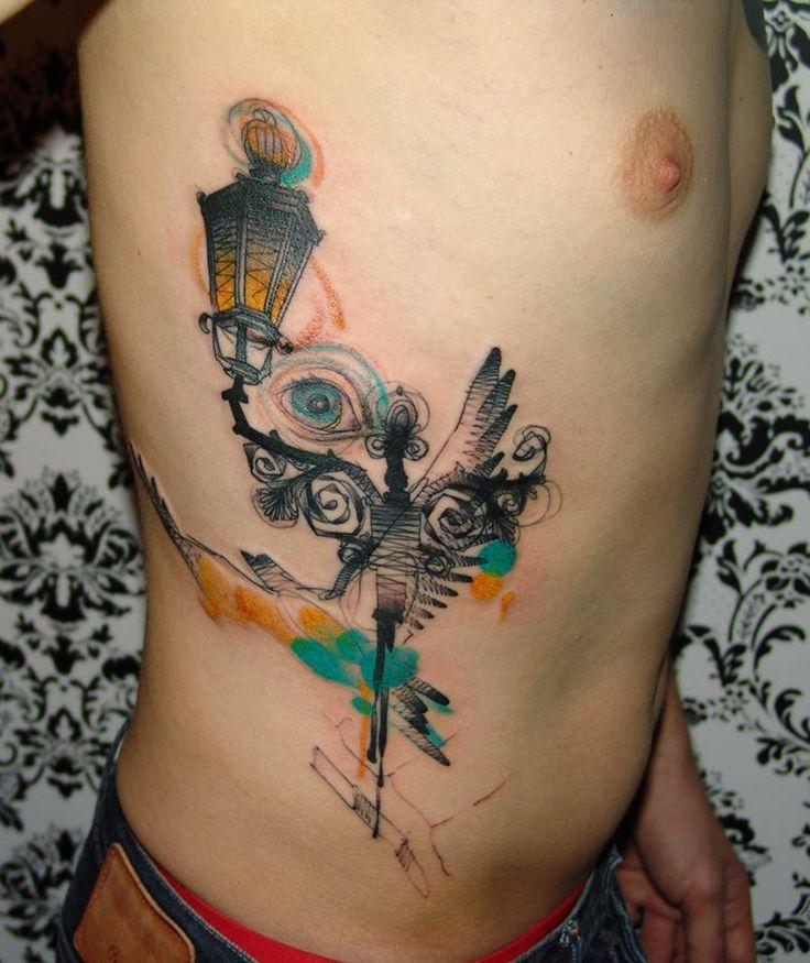 Marta Lipinski Old Street Lantern Tattoo