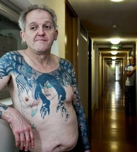 Man from prison tattoos