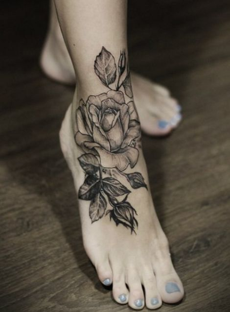 Rose Tattoo Idea Tattoomagz