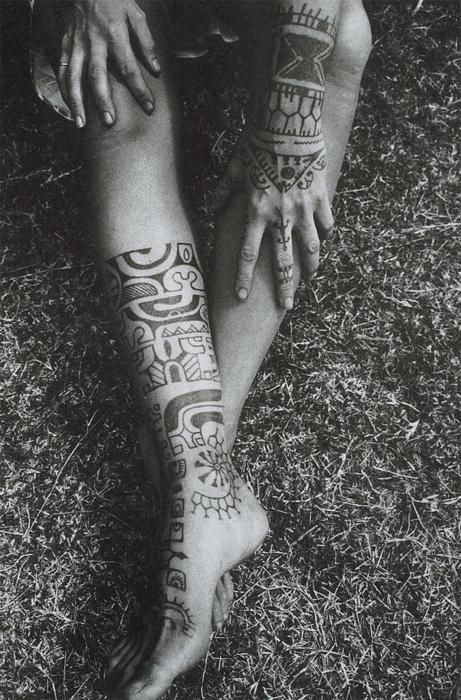 Tribal Tattoo For Girls On Foot Tattoomagz