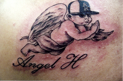Small Baby Angel Tattoo Tattoomagz
