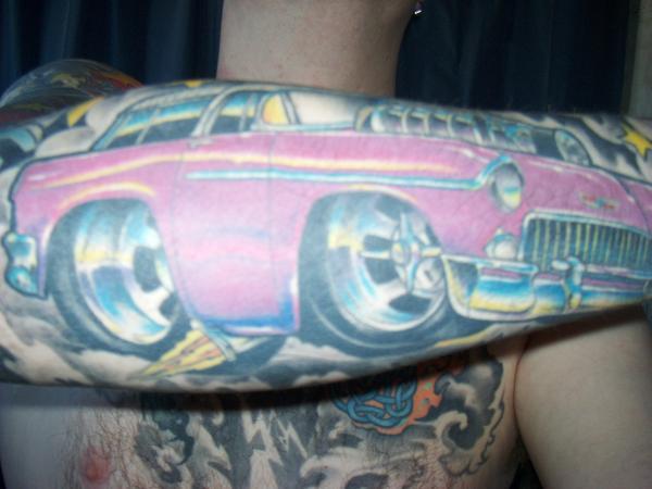Nice Colour Car Tattoomagz