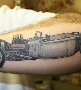 Stylish Old Car Tattoomagz