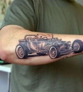 Car Tattoos Tattoomagz Handpicked World S Greatest Tattoos
