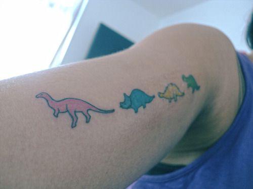 Cute Dinosaur Tattoo