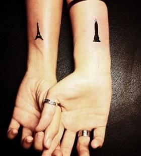 Paris style cool tattoo