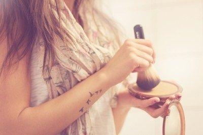 Black birds love tattoo on arm