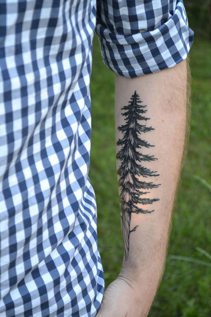 Cute men\'s tree tattoo on arm - TattooMagz