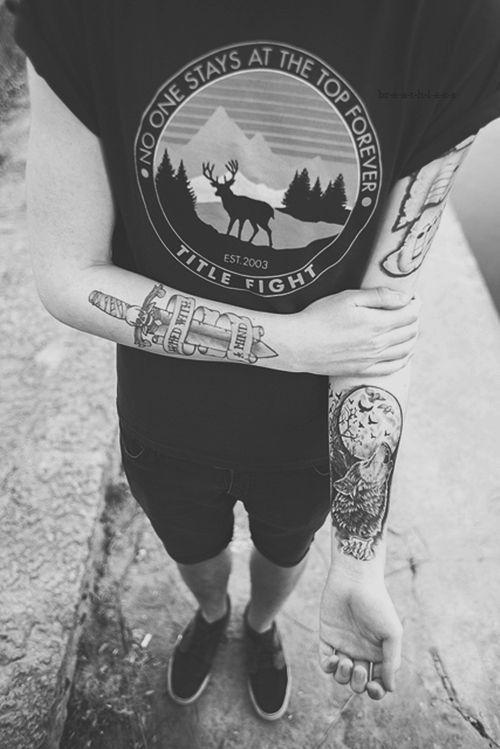 Wolf tattoo tumblr arm - photo#8
