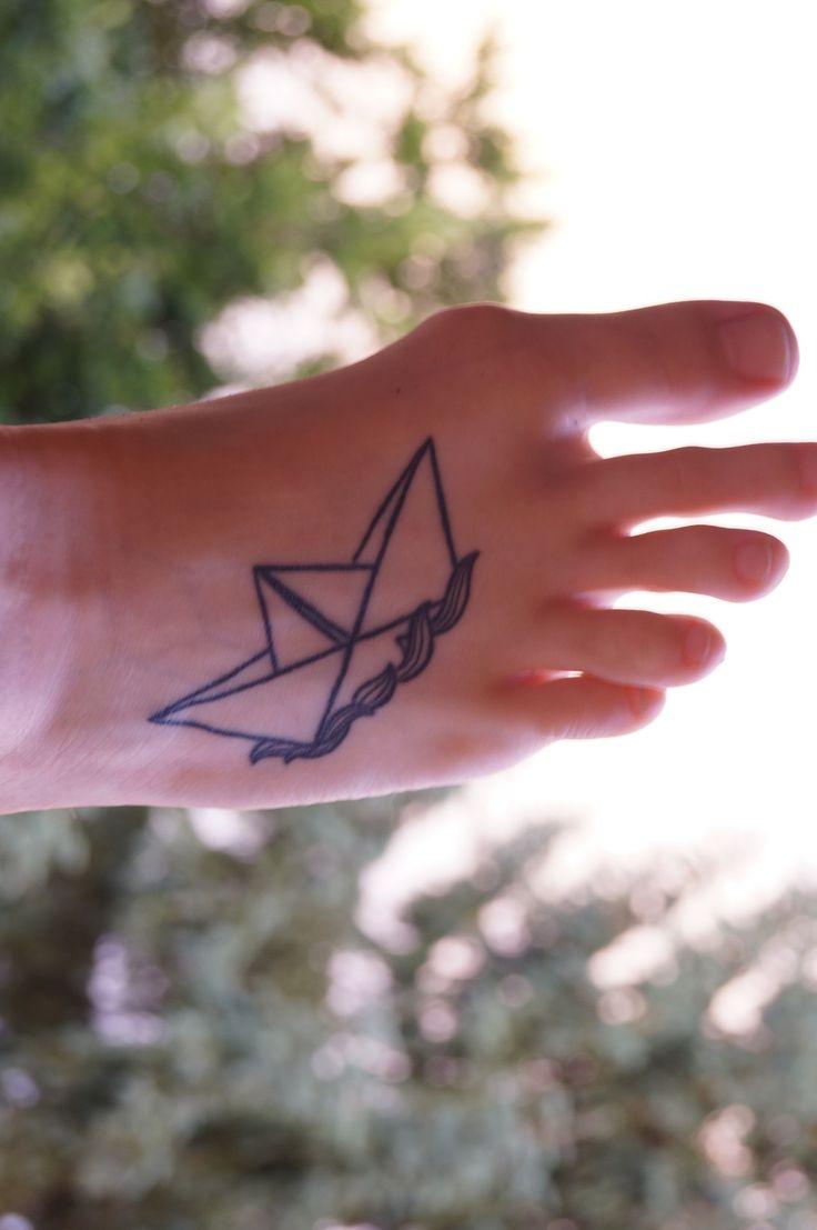 Kenyon Martin Lips Tattoo Paper boat tattoo
