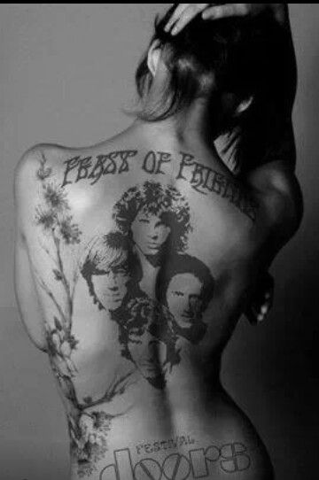 the doors jim morrison tattoo  sc 1 st  TattooMagz & the doors jim morrison tattoo - TattooMagz