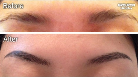 Painless 3D Eyebrow Tattoo for Ladies - TattooMagz