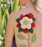 Flower Vine Tattoos