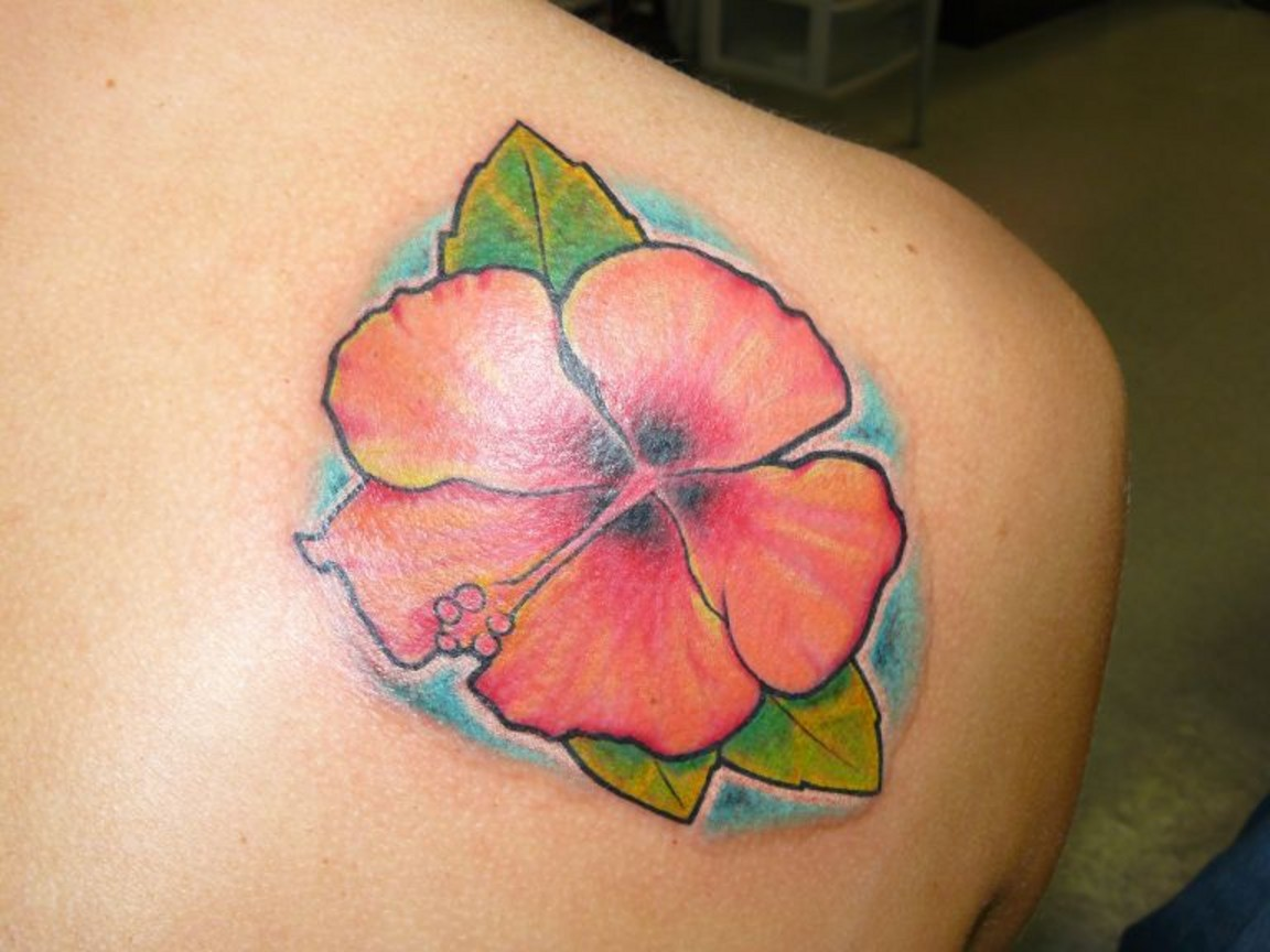 Hawaiian Flower Tattoos Designs Tattoomagz
