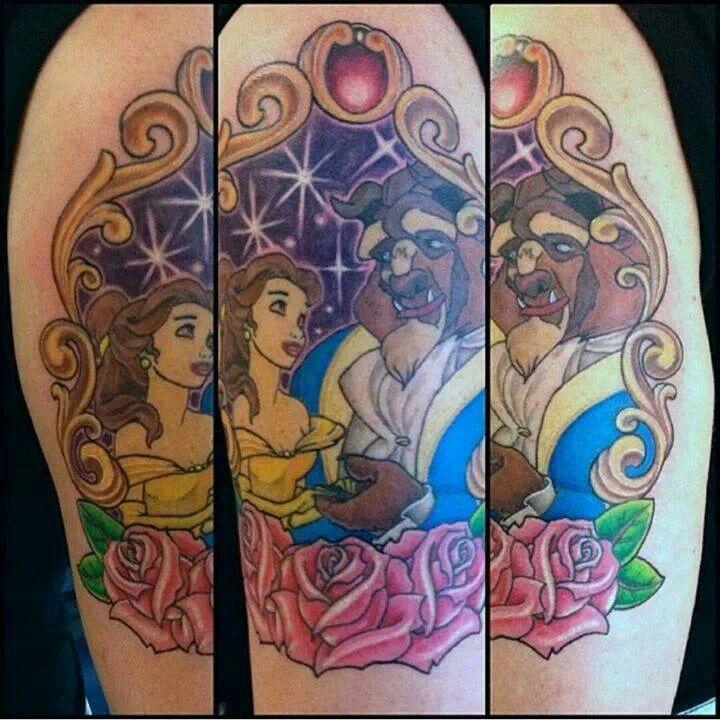 Beauty And The Beast Tattoo Tattoomagz