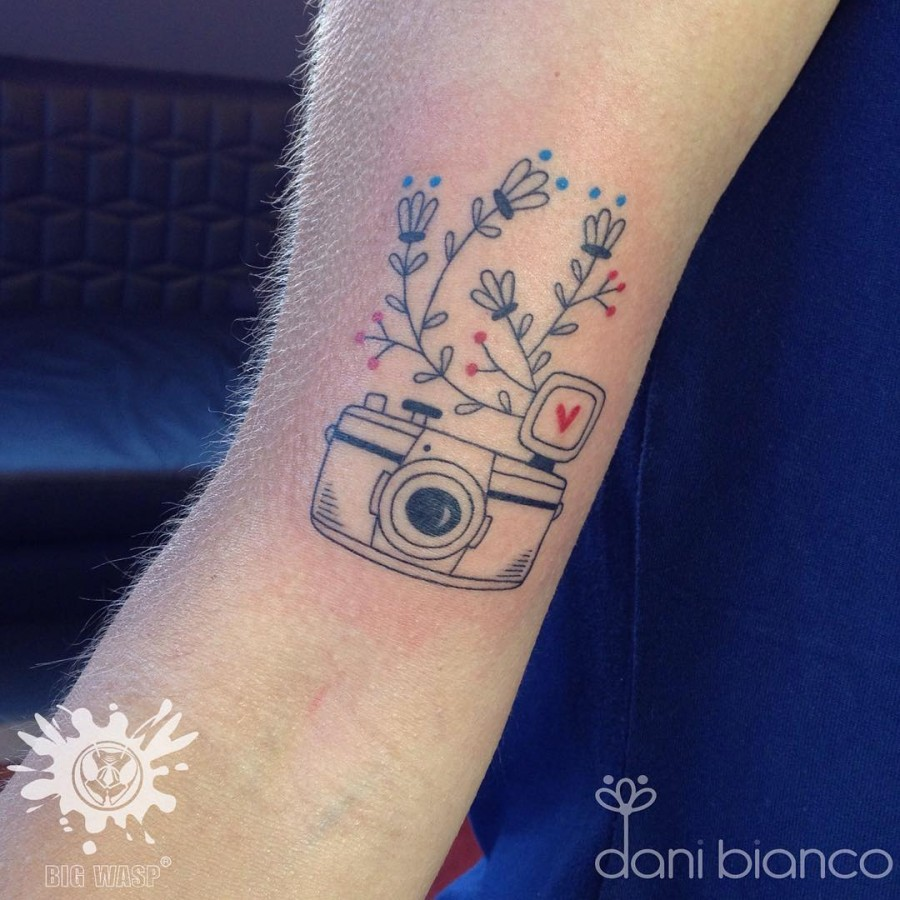 Fine Line Tattoos by Dani Bianco