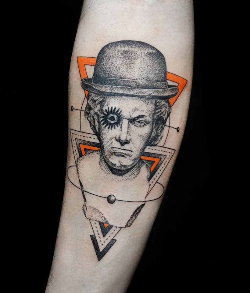 Clockwork Orange tattoo