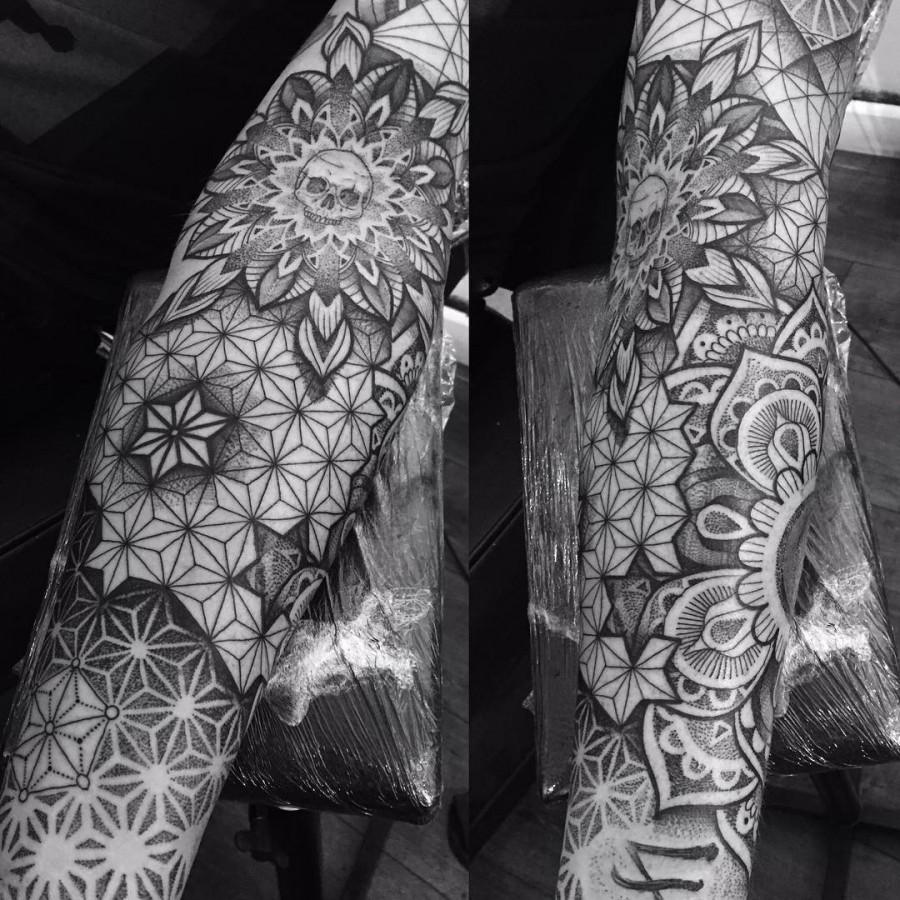 35 Spiritual Mandala Tattoo Designs: 69 Spectacular Mandala Sleeve Tattoos