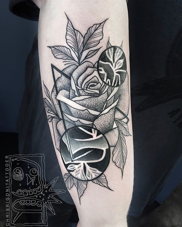 dotwork-rose-tattoo-by-chris-rigoni