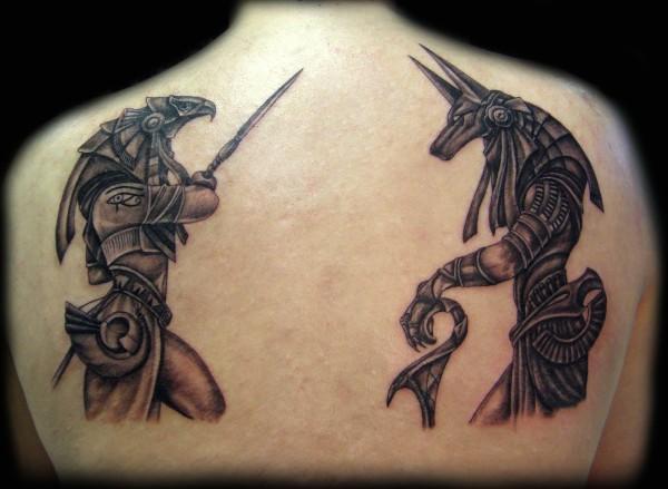 Egyptian Animal Tattoo Designs