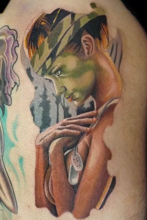 G. I. Jane tattoos for men