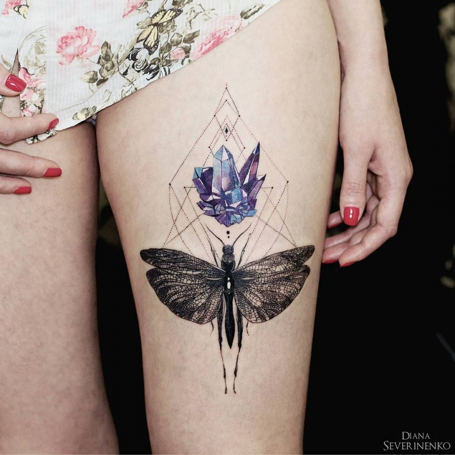Diana Severinenko Nature Tattoos