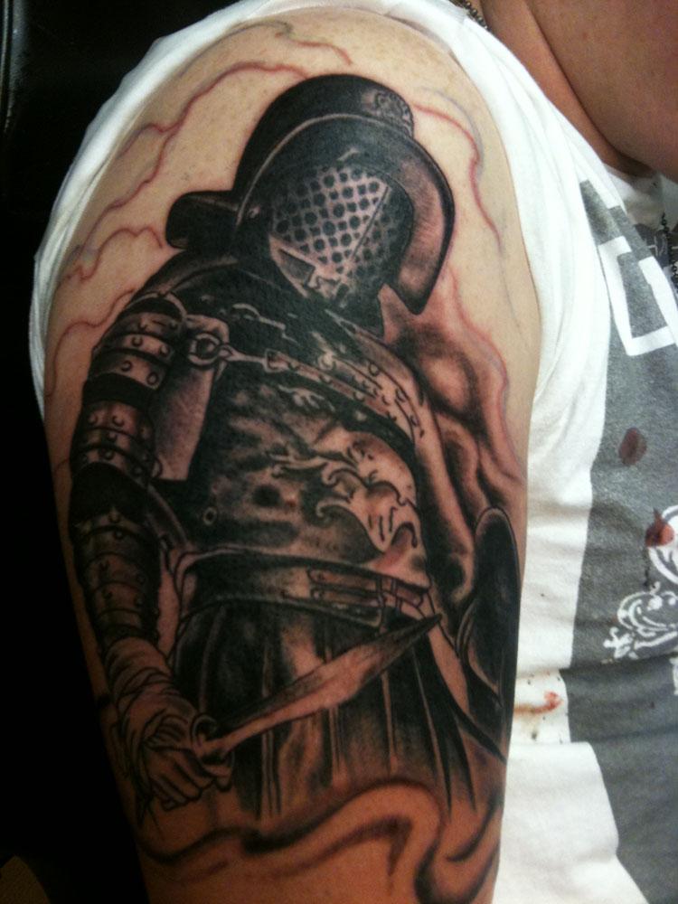 4d7d8a94eebfc Sweet gladiator maximus tattoo - TattooMagz