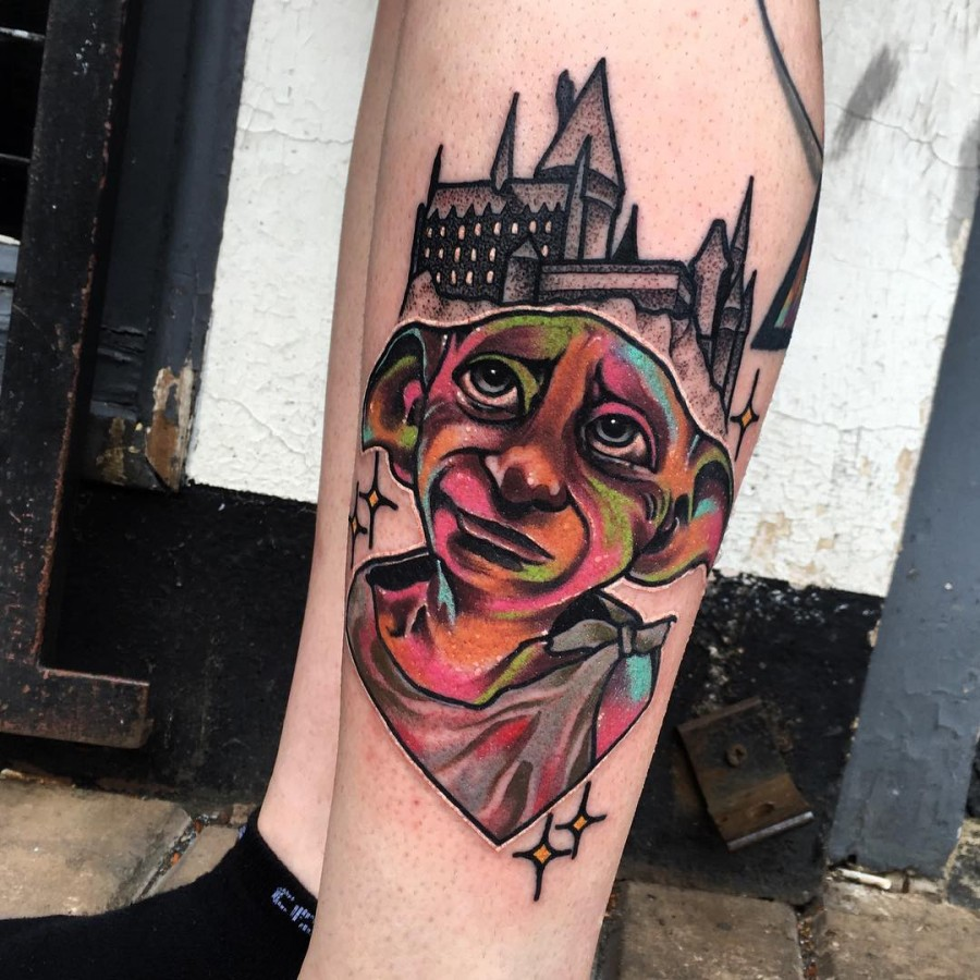 harry potter tattoo by littleandytattoo