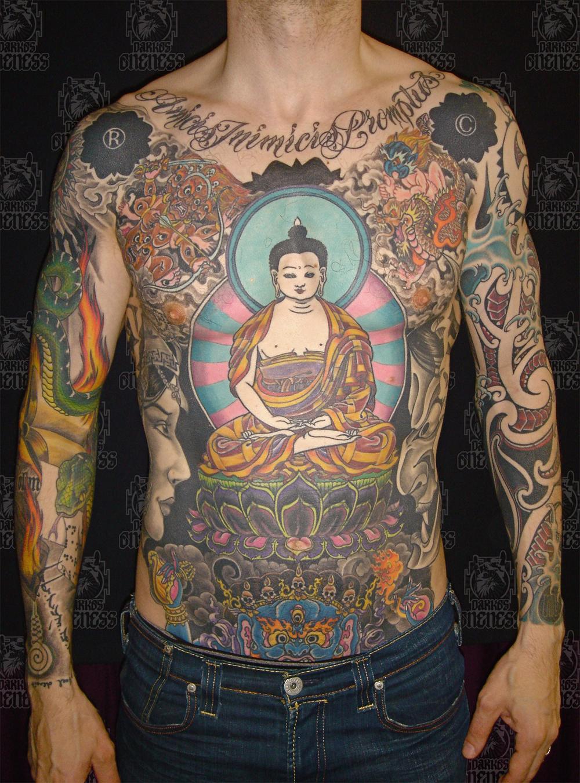 Huge Buddha Full Body Tattoo Tattoomagz