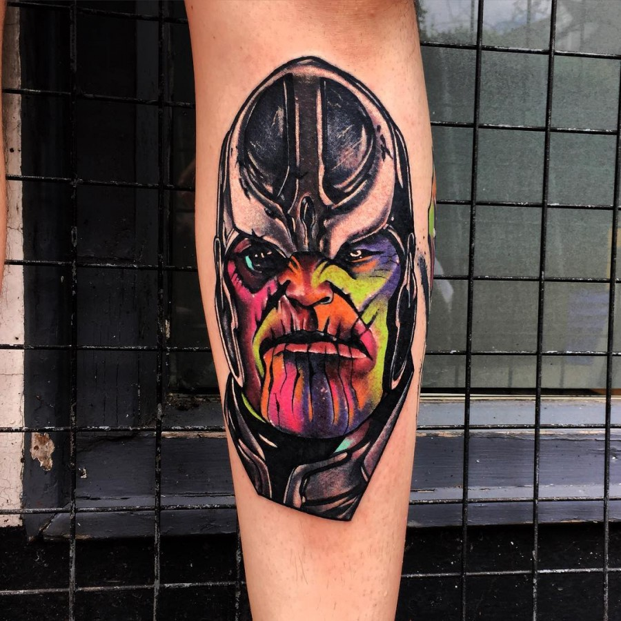 marvel tattoo by littleandytattoo