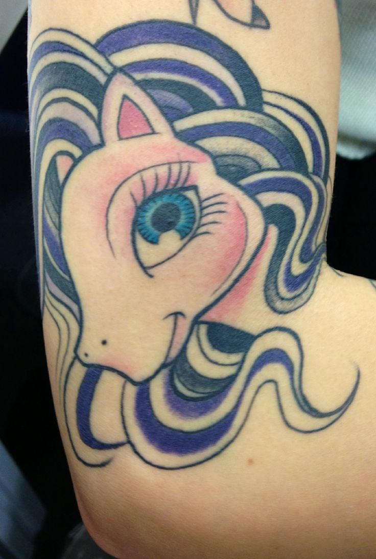 My little pony tattoo by pepe vicio tattoomagz for My little pony tattoo