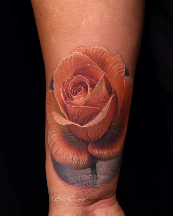 orange-rose-tattoo-by-phil-garcia
